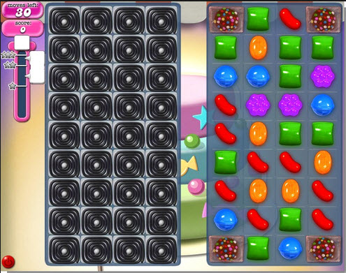 Candy Crush Saga - niveau 210