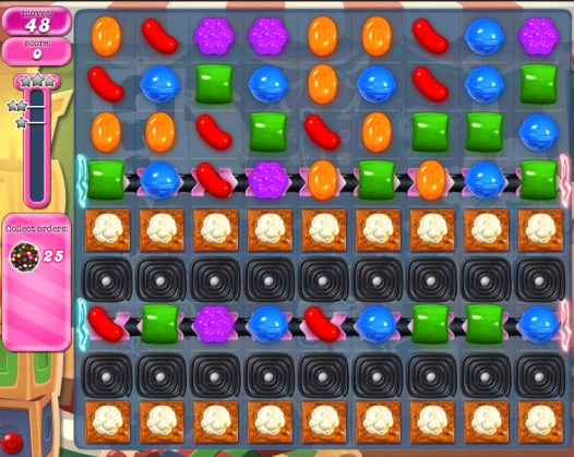 Candy Crush Saga - niveau 779