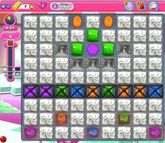 Candy Crush Saga - niveau 252