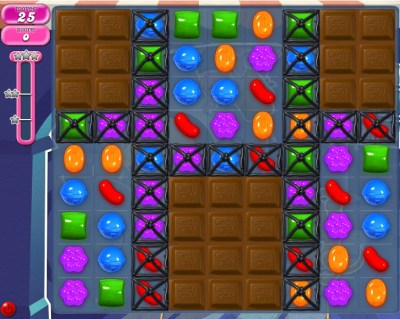 Candy Crush Saga - niveau 831