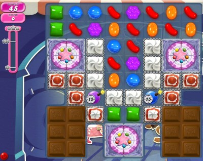 Candy Crush Saga - niveau 833