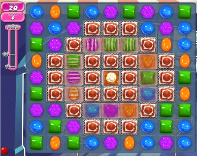 Candy Crush Saga - niveau 845