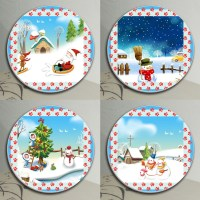 Coaster sets for Drinks | set of 4 Coffee Coasters