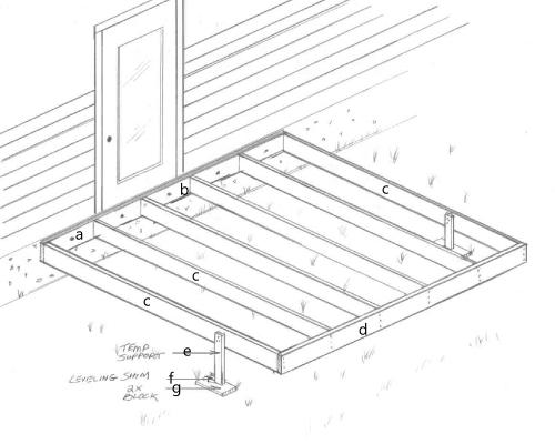 deck building diagram