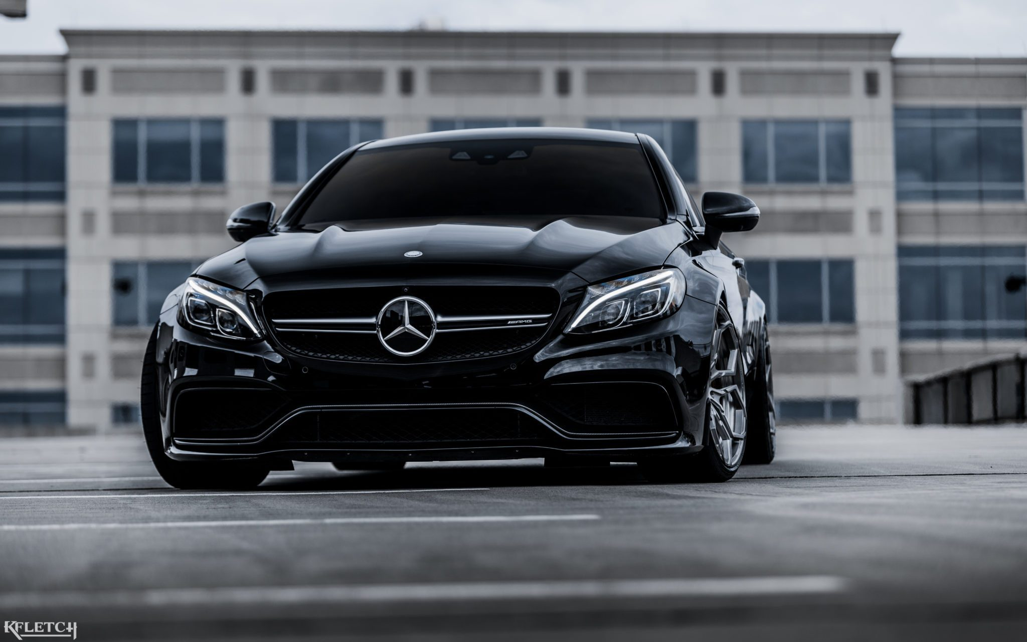 Audi Black Cars Wallpapers Gorgeous Black Mercedes Benz C63 Amg With Velos