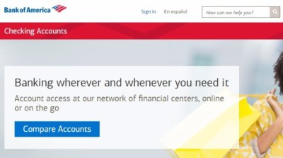 Bank of America Personal Checking Account - 3 Types