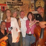 Bill McCasland, far right, plays bass in the Red Dirt Blues Band.