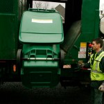 In early November, Naugatuck trash crews will begin using an automated collection arm like the one pictured above in a 2003 file photo from Torrington.
