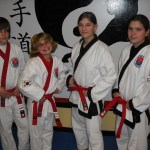 Mathew Bellino and Erin Rielly were promoted to apprentice black Belt and Tressa Soucie and Kayla Sciarretti earned invitations to grade to black Belt.