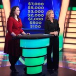 Kat Keating, left, with host Meredith Vieira, competes on 'Millionaire' Oct. 7.