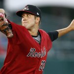 Naugatuck native Pat Dean pitched one game for the New Britain Rock Cats in 2011. The lefty is back in the rotation for the Minnesota Twins' Double-A affiliate this season. –RA ARCHIVE