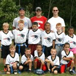 Front row, from left, Chance Conklin, Blake Stone, Orlando Ramos, Justin Stone, and Christian Ramos. Second row, from left, Tyler Ranno, Nate Gairing, Jonathan Chatfield, Steven Alsiphat, Nick Linton , and Rachel Healey. Back row, from left, coaches Ken Stone, Dave Ranno, and Dan Conklin.  CONTRIBUTED