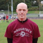 Naugatuck High School girls soccer coach Sean Dunn has the Greyhounds firing on all cylinders in his first year at the helm.  KEN MORSE