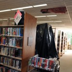 Portions of the interior of the Howard Whittemore Memorial Library in Naugatuck have been damaged by a leaky roof. The library has secured a loan to pay for a roof replacement on a section of the building. - RA ARCHIVE