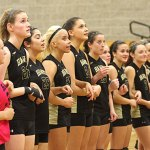 The Woodland volleyball team went 18-0 in the regular season and captured another Brass Division title. FILE PHOTO