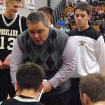 After five years at the helm of the Woodland boys basketball team, coach Tom Hunt has positioned the Hawks as a team on the rise. –KEN MORSE