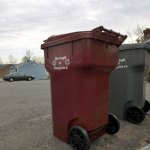 All borough residents will soon have grey and garnet barrels for automated trash and recycling collection. –RA ARCHIVE