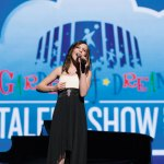 Prospect teenager Alyssa Casson performed at the Garden of Dreams Spring Talent Show April 5 at Radio City Music Hall. -AVI GERVER/MSG PHOTOS