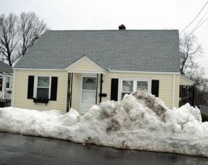 This Manners Avenue house in Naugatuck had its roof, doors and windows redone and a new furnace installed with a 0 percent interest loan that the borough provided using Community Development Block Grant funding. –FILE PHOTO