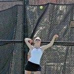 Naugatuck's No. 2 singles player Kayla Gallant. –FILE PHOTO