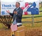 Outpouring of support follows flag theft