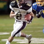Shane Kingsley was an all-state wide receiver for the Hawks. –RA ARCHIVE