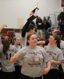 The 7th annual Clash for the Cure was held March 27 at Naugatuck High School. –ELIO GUGLIOTTI