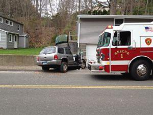 Police are investigating the cause of a fatal car accident on Horton Hill in Naugatuck Friday morning. –PAUL SINGLEY