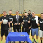 The Susie Foundation, Beacon Hose Co. No. 1 and the Woodland Regional High School Alumni Association teamed up to host the inaugural Valley Dodgeball Classic May 31 at Woodland. A dozen teams hurled dodgeballs at each other for five hours to raise money for the three local organizations. The Dodgefathers (pictured) won the event by going undefeated in the double-elimination portion of the tournament. Event organizers thanked the Beacon Falls Parks and Recreation Commission, Gabe's Service Center and the New Harvest Restaurant for their generosity in helping to put on the event. A second tournament is tentatively planned for next year. –CONTRIBUTED