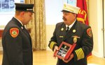 Fire department holds honor ceremony