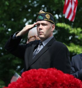 John DeBisschop III will be inducted into the Connecticut Veterans Hall of Fame on Nov. 30. He is the fourth person from Naugatuck to be inducted. –FILE PHOTO
