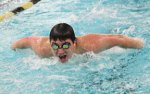 Woodland swims to seventh at NVLs