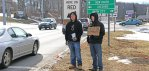 Youth group experiences homeless night