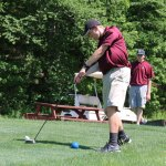 Naugatuck and Woodland met on the links May 31 at Hop Brook Golf Course in Naugatuck for the final match of the regular season. Woodland won the match, 186-226. –LUKE MARSHALL