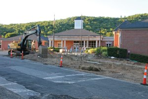 Highland Avenue in Beacon Falls is undergoing a major reconstruction. –LUKE MARSHALL
