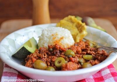 Picadillo Cubano (Cuban Ground Beef Dish)   My Colombian Recipes