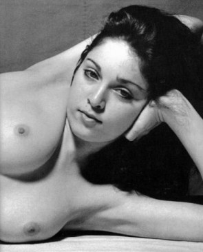Young Nude Madonna