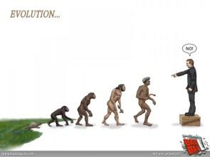 Evolution…NO!