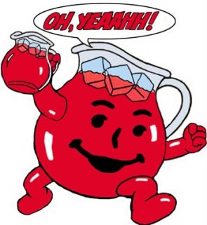 Kool Aid Man kicks ass!