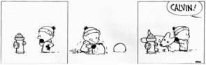 Calvin and Hobbes Christmas Fun 01
