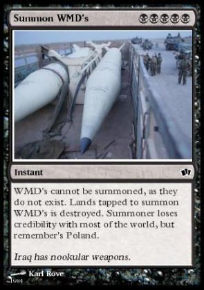 Summon WMD's