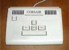 Corsair Ergonomic Keyboard
