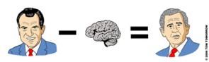 Nixon – Brain = ?