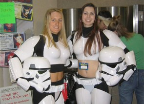 Sexy Star Wars Storm Troopers