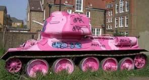 Pink Battle Tank