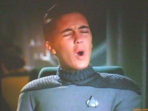 "Wesley Crusher's ""O Face"""