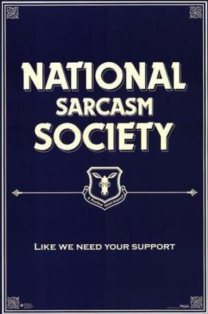 Nation Sarcasm Society