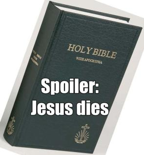 Holy Bible Spoiler