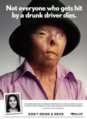 Texax Anti DUI Poster