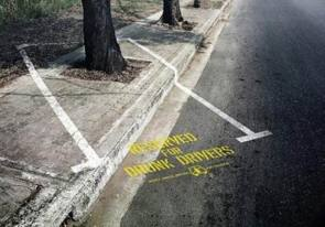 Reserved for Drunk Drivers
